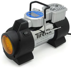 tiretek power-pro portable tire inflator compressor